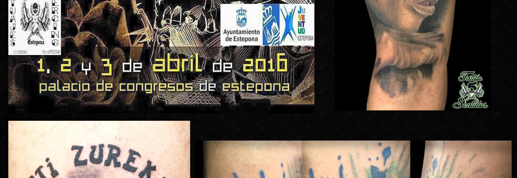 CARTEL EXPO TATTOO ESTEPONA 2016