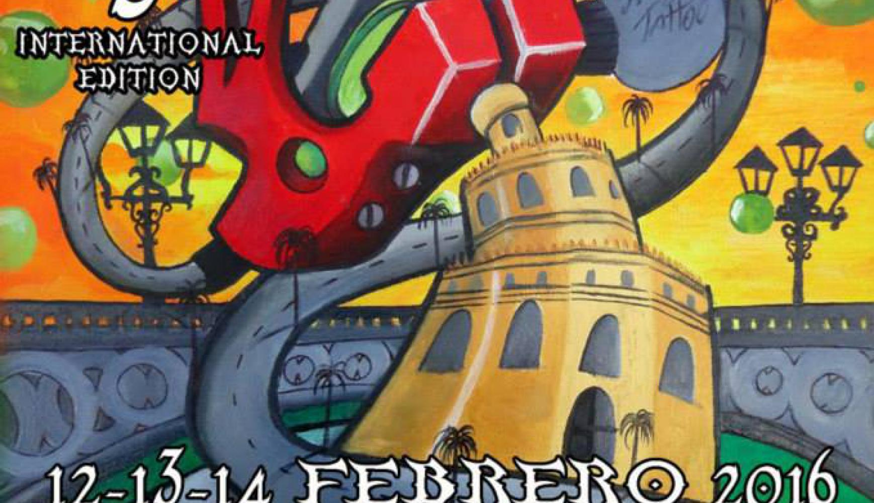 5 SEVILLA TATTOO CONVENTION  12 13 14 FEBRERO 2016