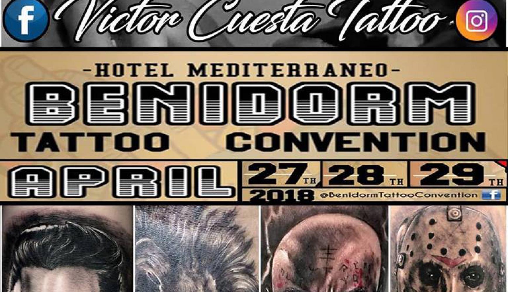 Los 5 sentidos Tattoo en convencion de tattoo Benidorm 2018