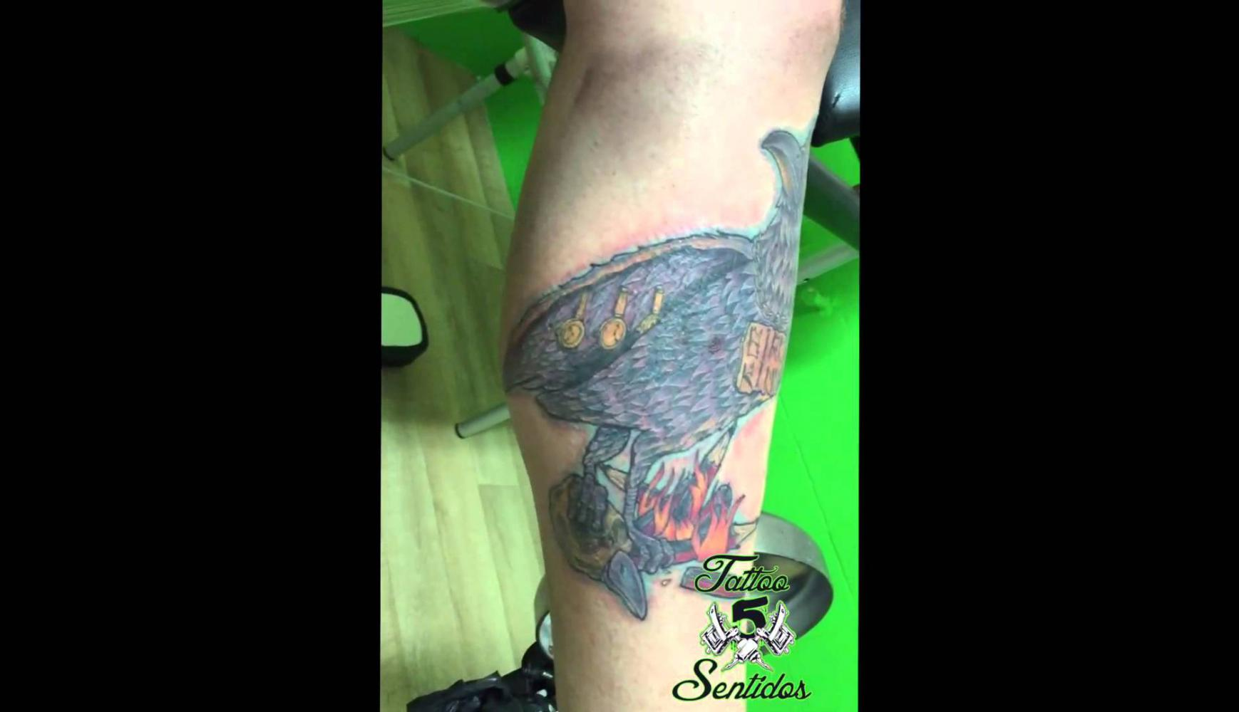 Embedded thumbnail for TATTOO CUERVO - LOS 5 SENTIDOS TATTOO BENIDORM