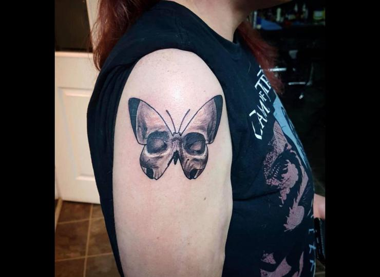 Tattoo mariposa