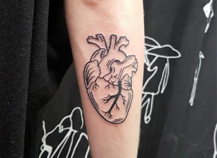 Tattoo corazon
