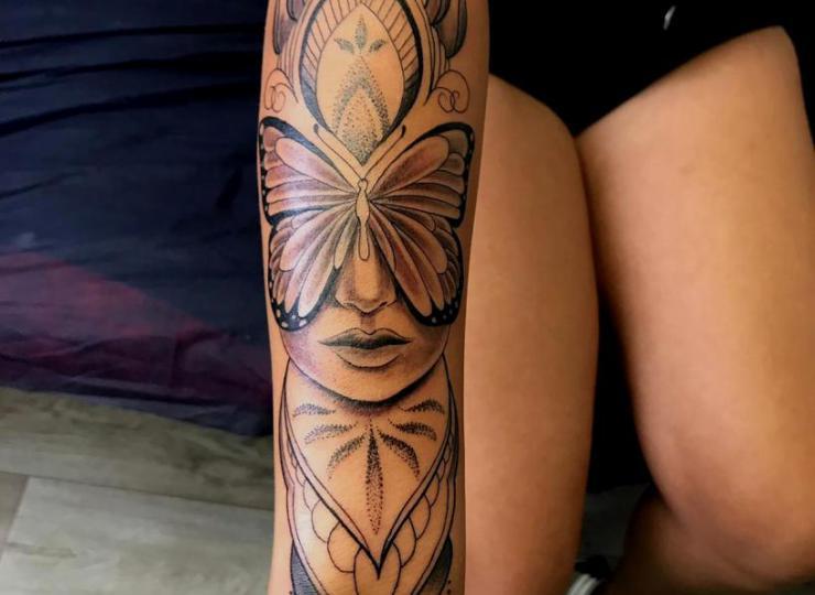 Tattoo Mandala fusion