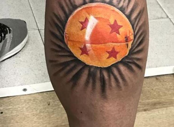Tattoo bola de drack